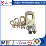Ancrage du tuyau de tête sphérique en acier