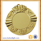 Медали праздника пробела вставки бронзы сплава цинка таможни оптовой продажи 2017