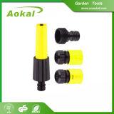 Ugello di spruzzo rotativo stabilito del tubo flessibile di giardino dell'ugello del tubo flessibile di giardino per agricoltura