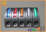 LED-Aluminiumstraßen-Stifte mit roter/blauer/grüner Farbe