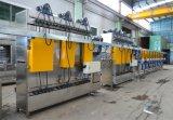 Bandes élastiques en nylon+bandes polyester continu de la machine de teinture et finition
