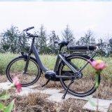 bicicleta eléctrica de la ciudad de las MEDIADOS DE de mecanismo impulsor de 700c Bafang señoras máximas del sistema