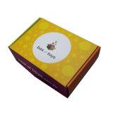 Pleine imprimés Boîte en carton ondulé jouet pour enfant