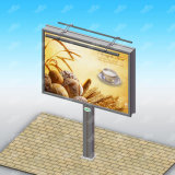Cartelera de la estructura de acero de la publicidad al aire libre