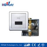 Wc cuarto de baño accesorios de enjuague automático automático del sensor de orinal con válvula de descarga la batería