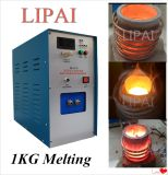 金属の製錬所1-3kgの小型誘導の溶ける炉
