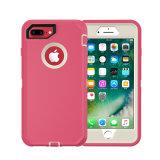 2 in 1 kombiniertem Handy-Fall für iPhone 8 8 Plus mit Standplatz
