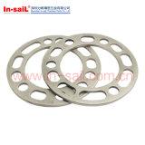 Plaque en acier matérielle en métal petite tout type avec le trou traversant