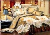 寝具はポリエステルフィラメントによってブラシをかけられるファブリックをセットする