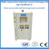 Tipo de aire tres conjuntos de calefacción y refrigeración de la máquina enfriadora