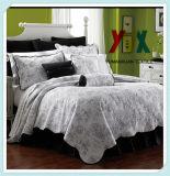 Edredón acolchado acolchado 100% de la tela de algodón