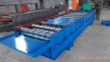 910mm Folha do telhado de aço máquina de formação de rolos a cores