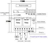 Les 2 glissières populaires expédient le contrôleur renversé Kl-Clkz02A de moteur