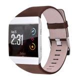 Fitbitのイオンの本革の時計バンドの置換ストラップのため