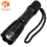 Berufs-LED-Fackel-Qualitäts-Militärhelle schwarze Handtaschenlampe T6