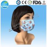 Máscara protetora não tecida descartável para crianças