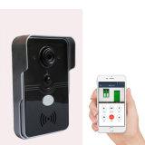 Wasserdichte drahtlose WiFi videotür-Telefon-Wechselsprechanlage-Türklingel für Haus-Sicherheit