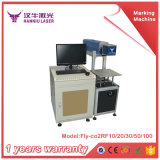 máquina de la marca del laser de la fibra del formato grande 100W
