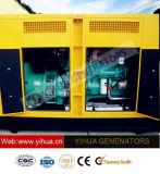 generatore diesel silenzioso di energia elettrica di 95kVA Cummins con l'alternatore di Stamford [IC180308e]