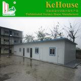 Niedrige Kosten-vorfabriziertes modulares Haus für temporäres Leben