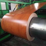 Motif imprimé en bois de l'acier