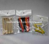 Colorido y de alta calidad de madera de Golf Golf Tee de plástico