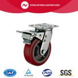Hochleistungs-PU-industrielle Fußrolle