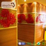 2017 nuevos revestimientos impermeables e incombustibles de la pared interior de WPC