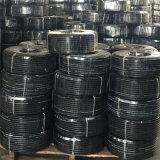 Linha de mangueira do combustível do preto 10mm SAE J30r7 com o PVC coberto