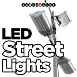la luce della via di 200W LED di il lotto di posizione, 800-1000W HA NASCOSTO il rimontaggio