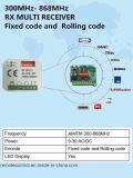 Universale ricevente compatibile con Faac Fix2/Fix3/Fix4/telecomando Te4433h)/Xt2 433 RC (di T4LC/Xt4 433 RC/Xt4 433