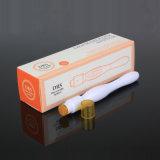 Sistema Titanium de Dermaroller da agulha do rolo do selo do afastamento cilindro/rolo Derma 40 micro para o cuidado de pele