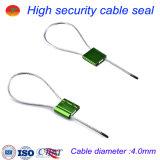 Tirare fortemente la chiusura di piccole guarnizioni a chiave poco costose del cavo della lega di alluminio di 4.0mm