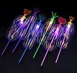 Juguetes de destello coloridos del palillo del resplandor de la flor de la burbuja del partido de los cabritos de los niños