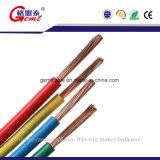 Tipo Bvr clasificado alambre aislado PVC del voltaje 300V del edificio del cable del conductor del cobre