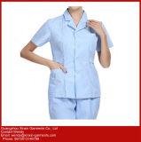L'usine Hopspital bon marché en gros médical frotte des procès 2 parties de l'uniforme (H7)