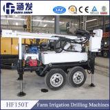 Plataforma de perforación del acoplado casero del uso para el agua bien, la perforación rotatoria de la bomba de fango y la perforación del aire DTH