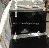 Mattonelle nere assolute del granito dello Shan Xi Polished/naturale della Cina per il rivestimento parete/della pavimentazione