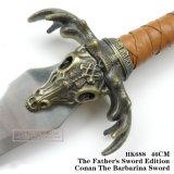 Conan le spade barbare 46cm HK688 di film delle spade