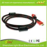 Cable compatible de los dispositivos HDMI de la alta calidad 3D