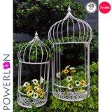 Garten-Pflanzer-Standplatz-Blumen-Potenziometer des MetallSet/2