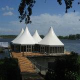Hexagon Tent van het Aluminium van de Stijl van Europa met de Muur van het Glas