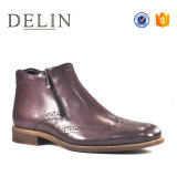 Наиболее популярные икроножной мужчин из натуральной кожи сапоги повседневная обувь