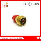 45V43m Gas-Objektiv-Futter-Karosserie für TIG-Fackel