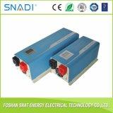 Inversor puro da potência solar da freqüência 6000W da potência de onda do seno da fora-Grade do custo de fábrica