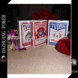 Tarjetas que juegan del casino negro alemán de la base de Tudor