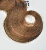 Corpo de cabelo brasileiro Mix de onda de 18 polegadas a cores encaixar na extensão de cabelo humano