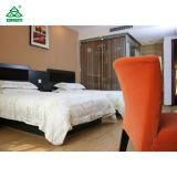 주문을 받아서 만들어지는 까만 색칠 완료를 가진 상업적인 호텔 침실 가구 세트