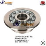 Luz colorida de la fuente del RGB LED 18*3W LED en IP68