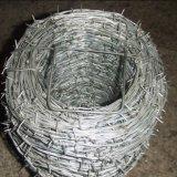 Alambre de púas galvanizado del hierro